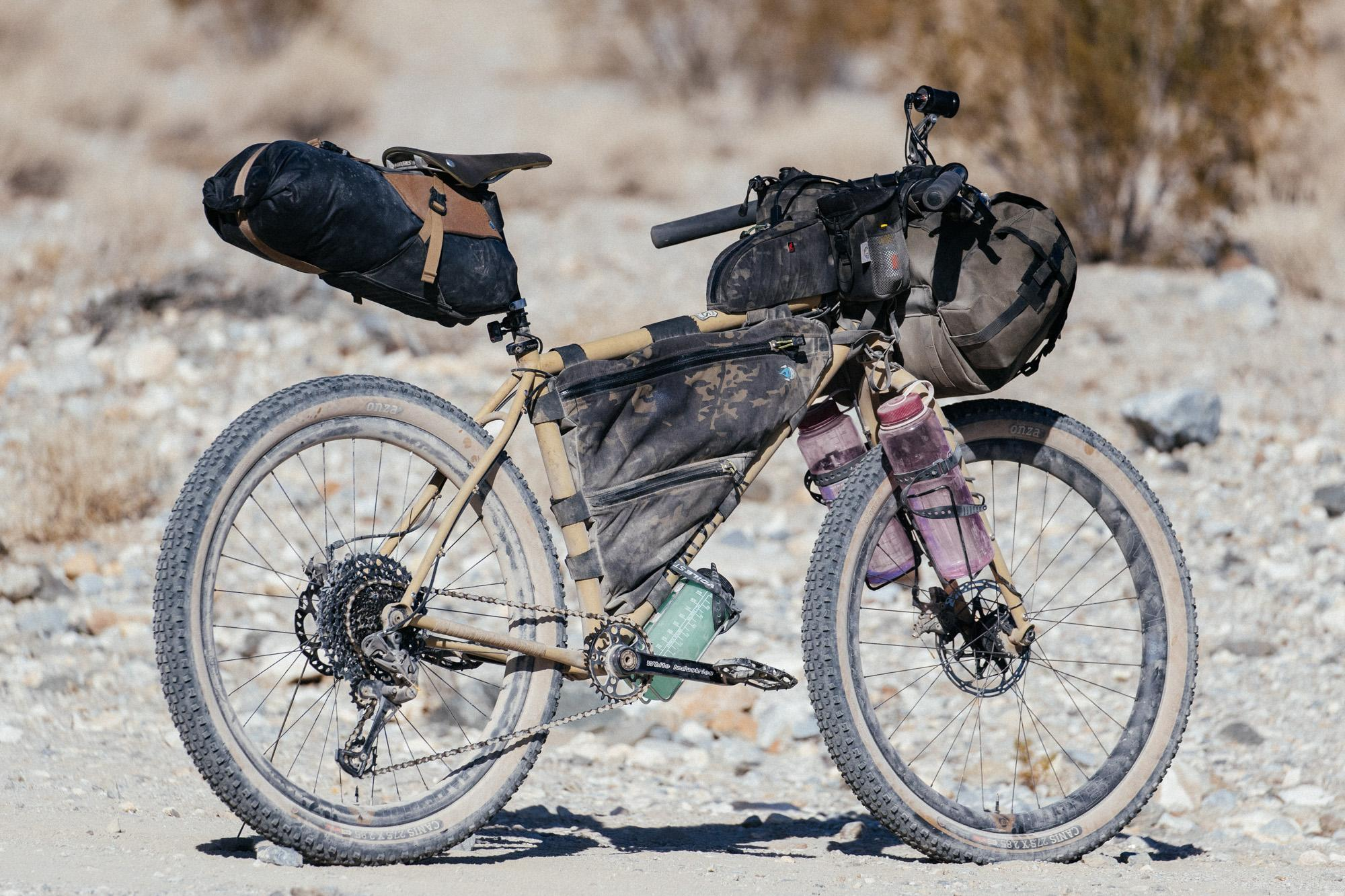 A Death Valley Prospector's Pack Mule: My 44 Bikes Creosote Cruiser