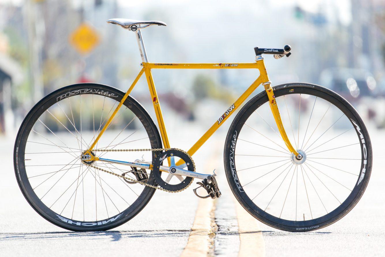 Lucas\' Samson Street Track Bike | The Radavist