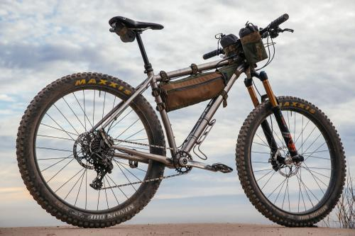 Matt's Advocate Cycles 27.5+ Hayduke Titan Hardtail with Yanco Custom Bags