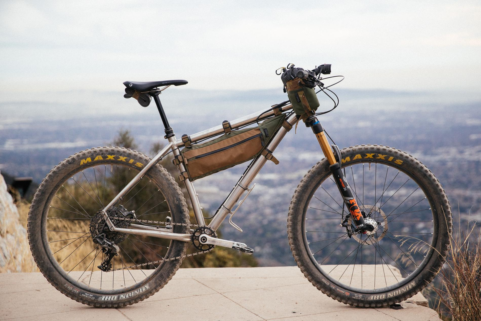 Matt's Advocate Cycles 27.5+ Hayduke Titan Hardtail with Yanco Custom Bags