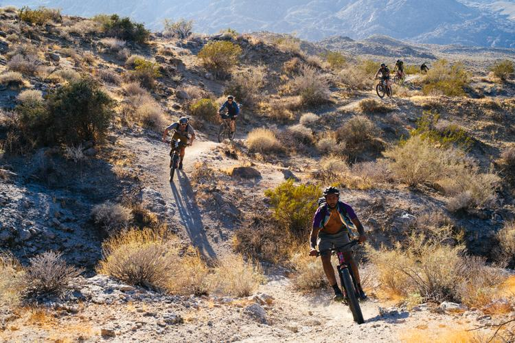 High Desert Mobbin' on the Palm Canyon Epic Trail