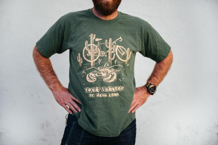 Pick Up the New Team Rock Lobster CX T-Shirt by Campbell Steers