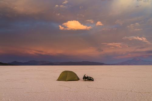 Camping on the Uyuni