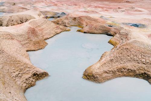 Geothermal textures
