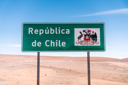...while heading into Chile