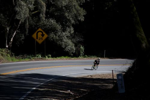Lael descends into Watsonville, Calif. (Rugile Kaladyte)