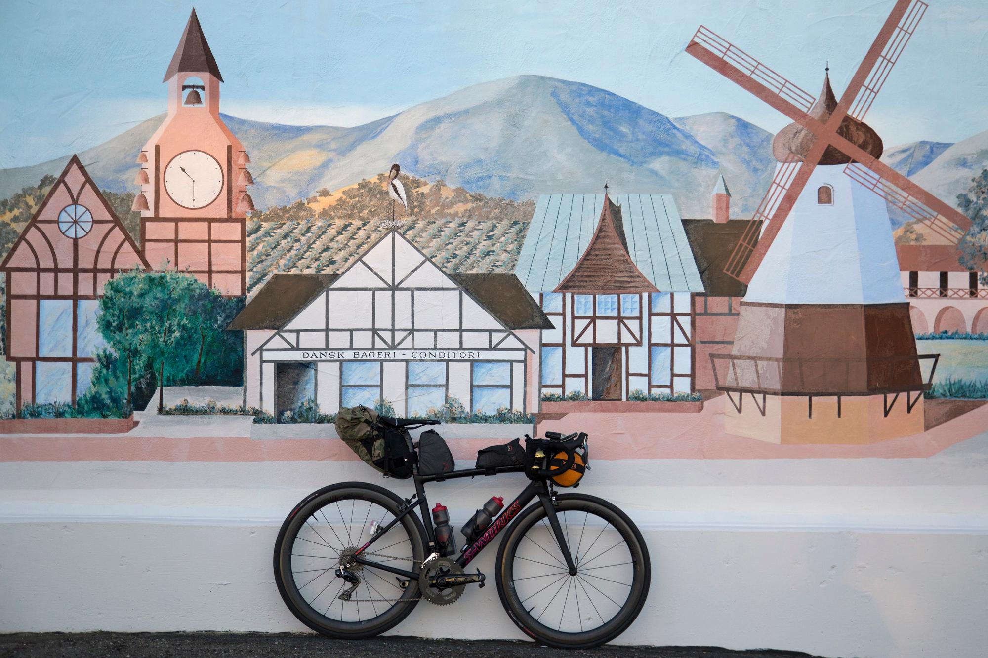 The 2018 Specialized Women's Tarmac in Solvang, Calif. (Rugile Kaladyte)