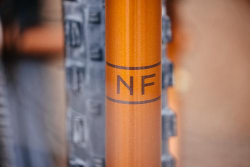 2018 NAHBS: Copper on Copper Northern Frameworks Hardtail Single Speed MTB