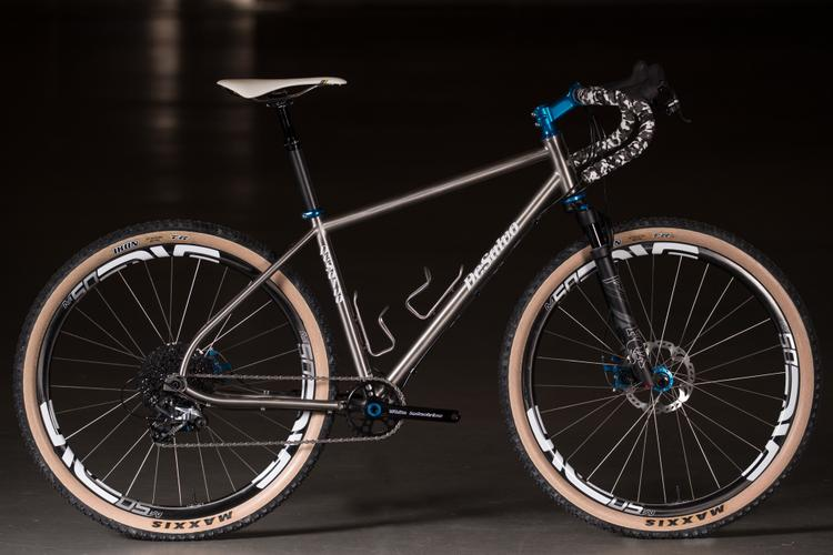 2018 NAHBS: DeSalvo Dirt Drop Dream MTB with a Fox AX Fork