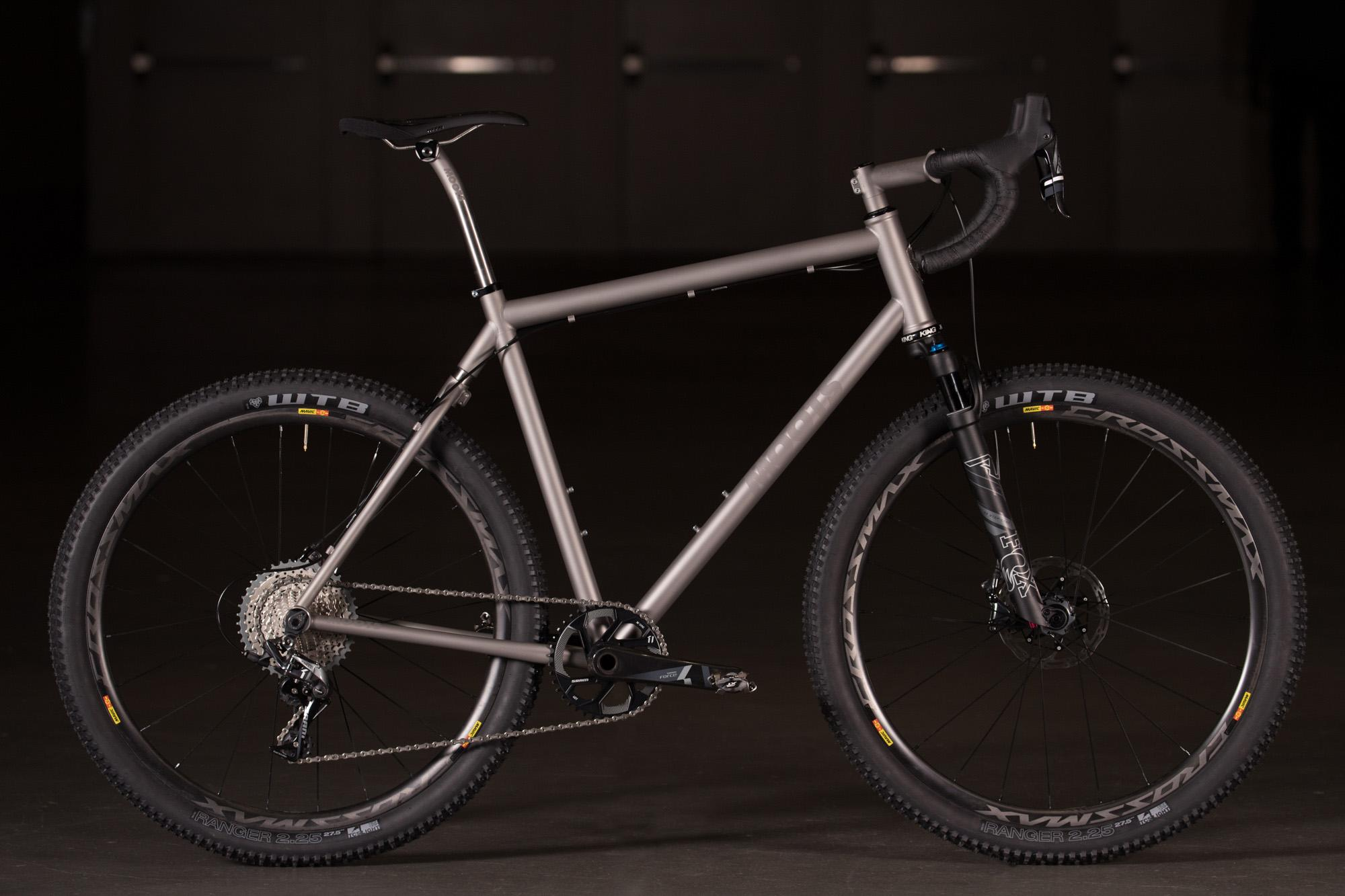 2018 NAHBS: Moots Dirt Drop Soft Tail Prototype