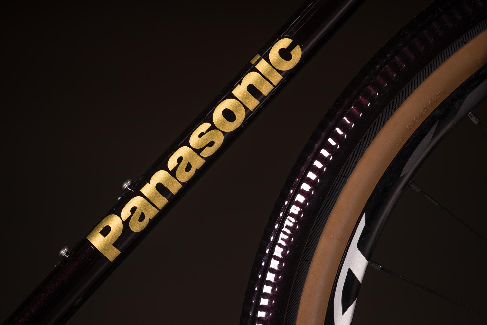 2018 NAHBS: Panasonic Randonneur with Shimano Ultegra