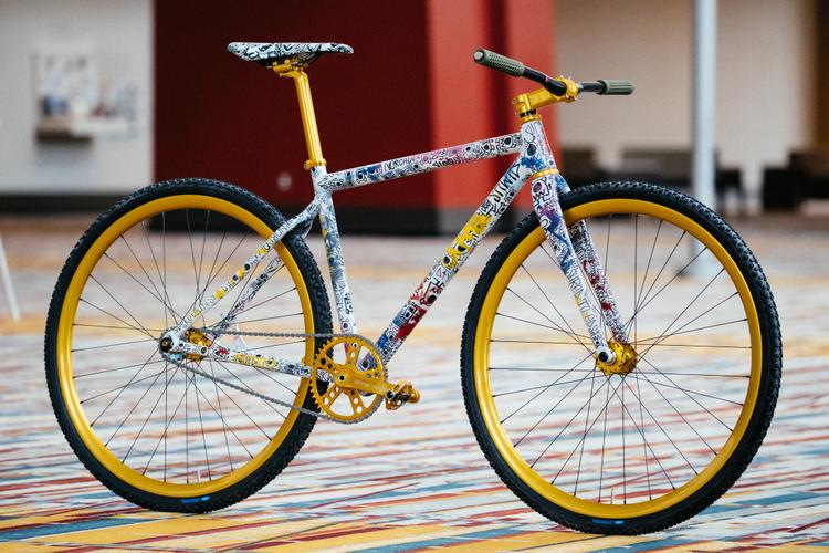 2018 NAHBS: Sketchy but Safe Squid Bikes Tracklocross