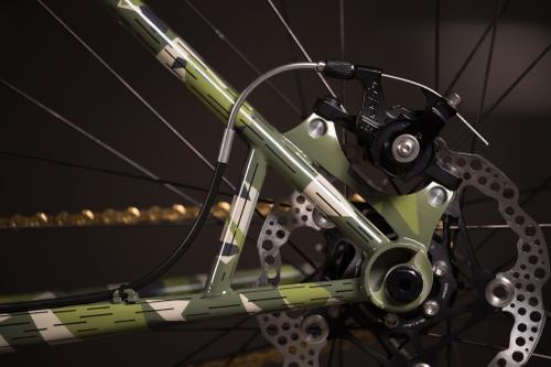 2018 NAHBS: Splittermuster Stinner Frameworks Single Speed MTB