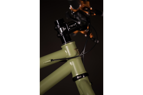 2018 NAHBS: TORESVELO OD Green Rigid MTB with Hope