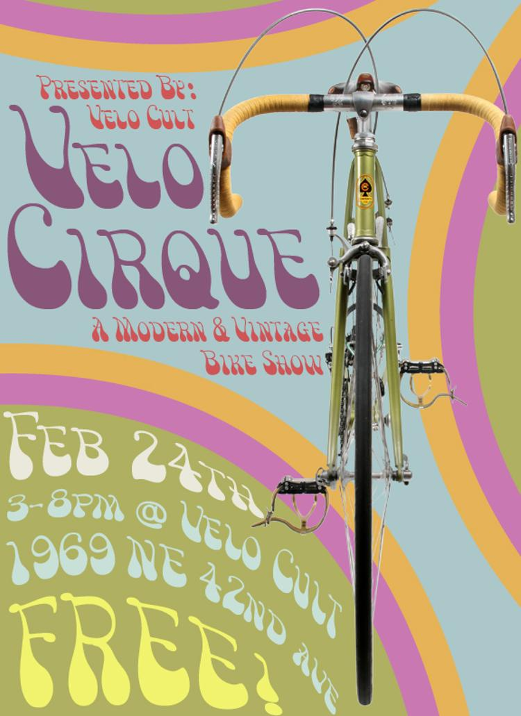 Velo Cirque is Today at Velo Cult