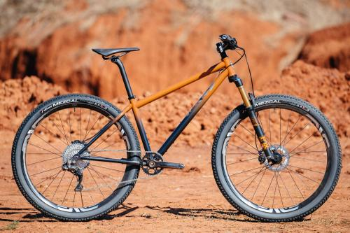 Bobby from Distric Bicycles' Oklahoma Red Dirt Moots Hardtail