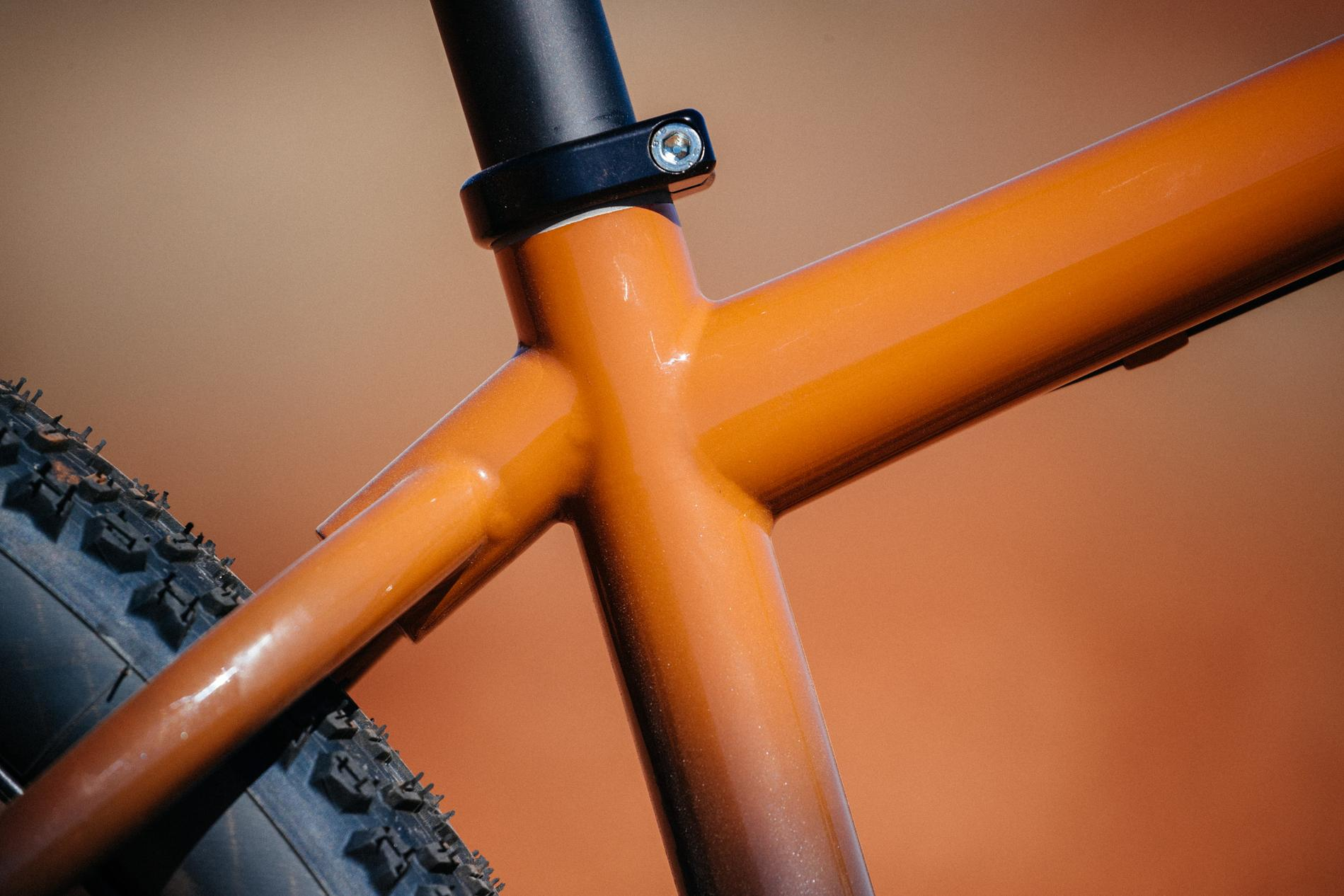 Bobby from Distric Bicycles' Oklahoma Red Dirt Moots Hardtail-21