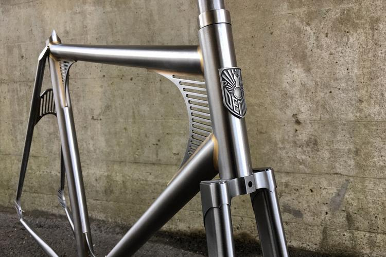 The Demon Frameworks KS200 Track Frameset