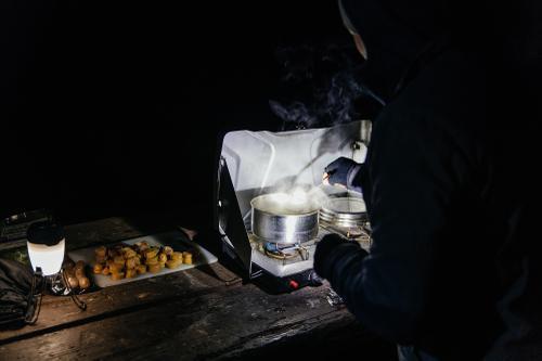 Camping in Chilao