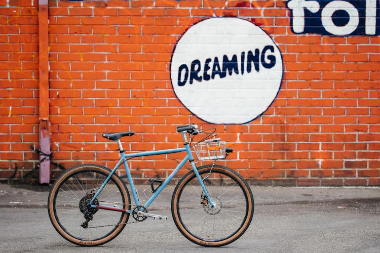 Golden Saddle Rides: Jimmy's Dreamer is in the Crust Bike Clouds