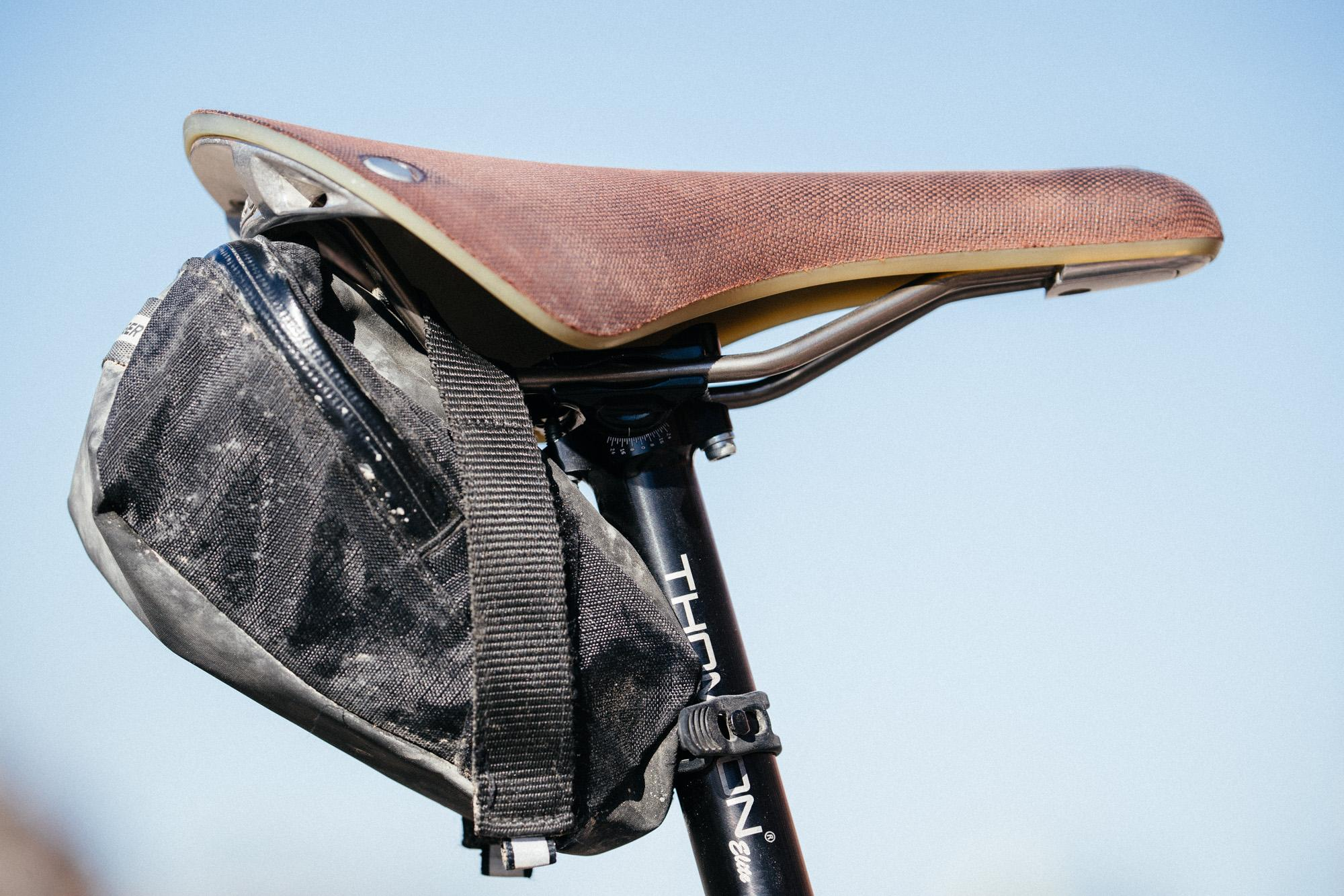 Land Run 100 Rides: Stu's Moots Routt 45 with a Lauf Grit Fork