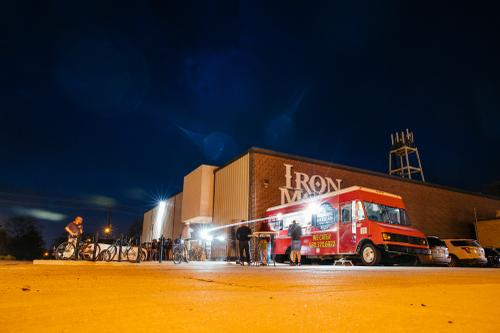 A night at the Iron Monk Brewery