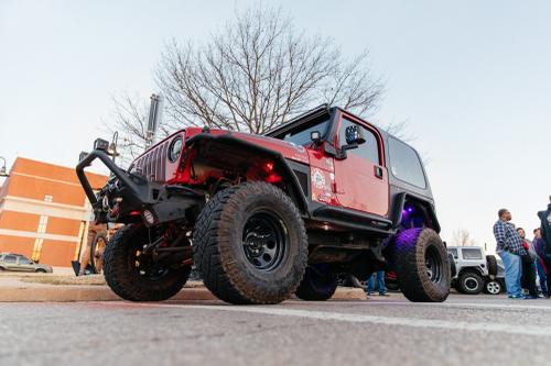 So. Many. Jeeps.