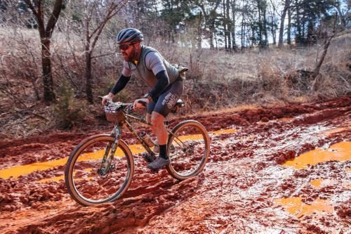 Kyle found the mud.