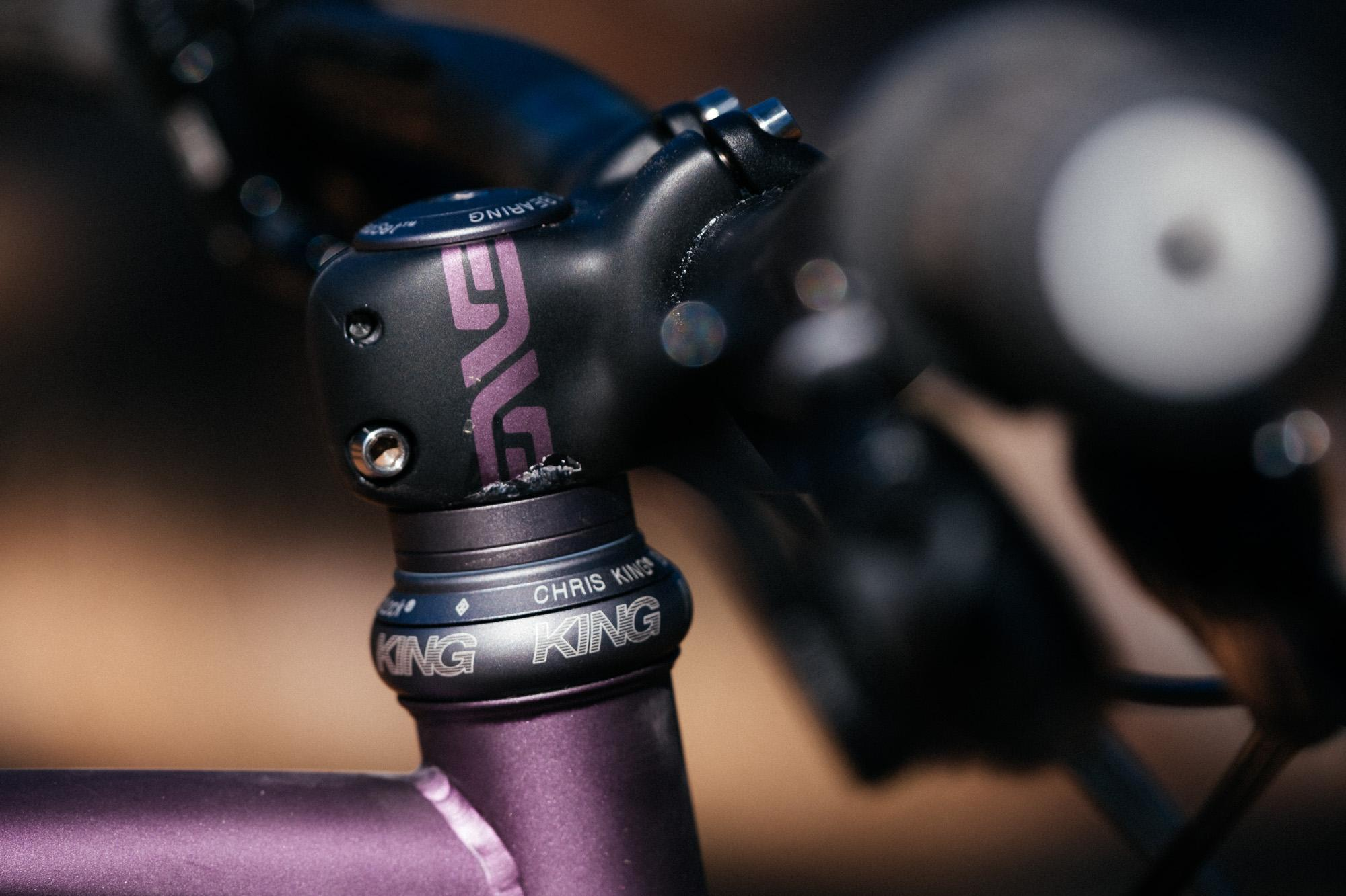 Nick Was High in LA on His Purple Haze 160mm Sklar Hardtail