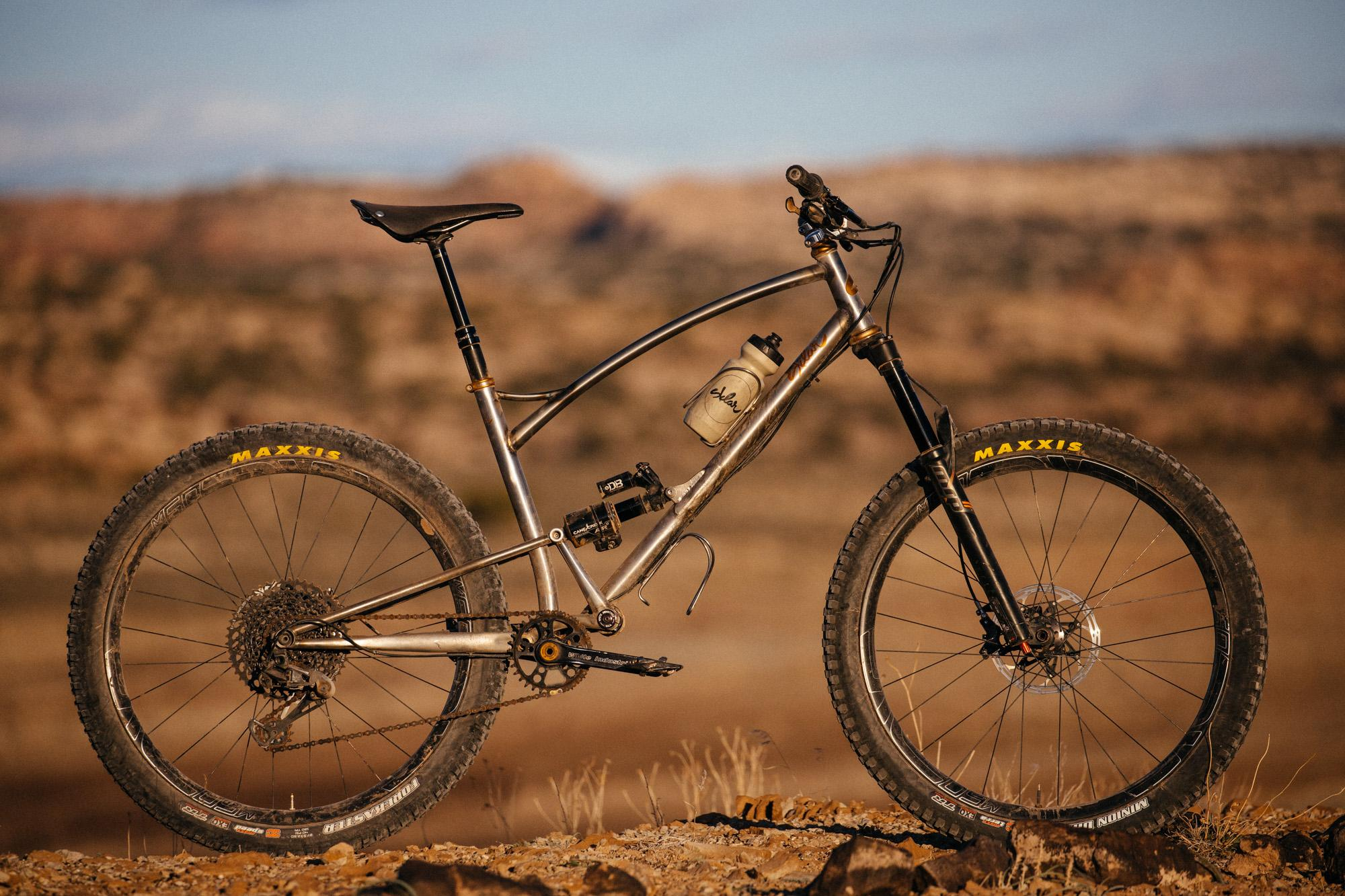 Adam's Prototype Sklar Rover Single Pivot Steel Full Suspension