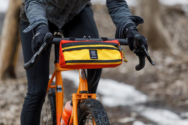 All City and Topo Designs Handlebar Bag
