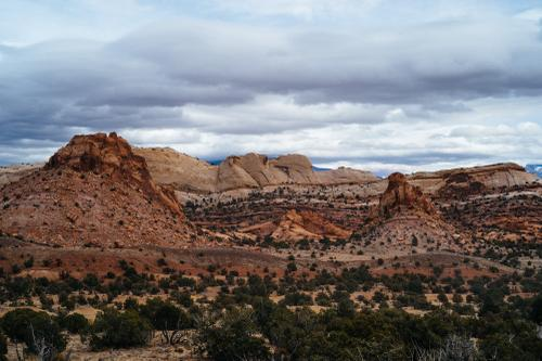 Capitol Reef - the Water Pocket Fold