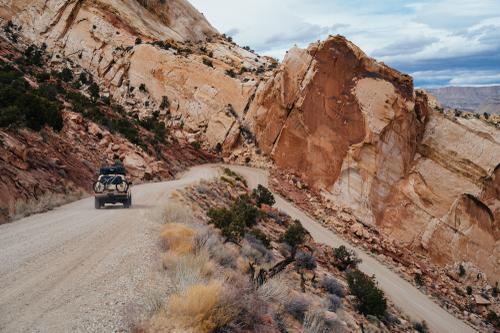 Burr Trail Switchbacks