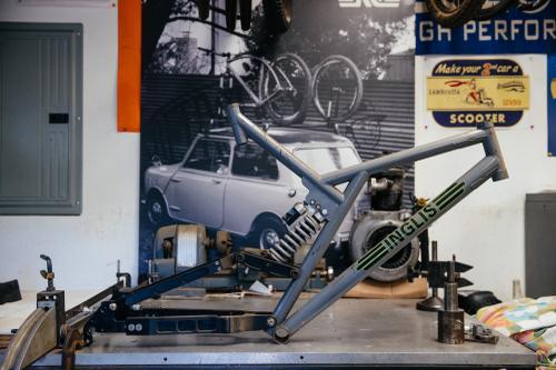Inglis DH bike