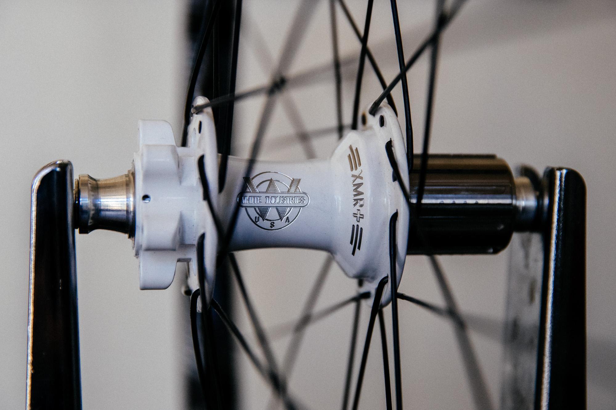 White hub - get it?