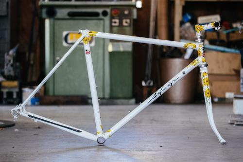 Sycip Number One: Frame by Jeremy, stem assisted by Paul Sadoff, painted by Jay Sycip
