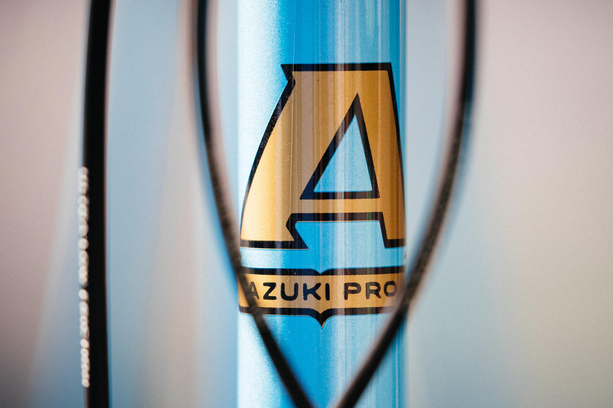Jonny's Azuki Pro with Joe Bell Paint is Ready for Eroica California