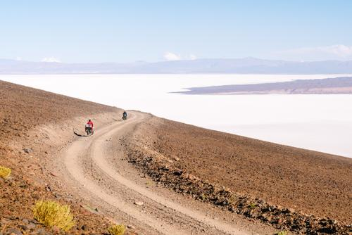 ...dropping down toward the Salar de Arizaro