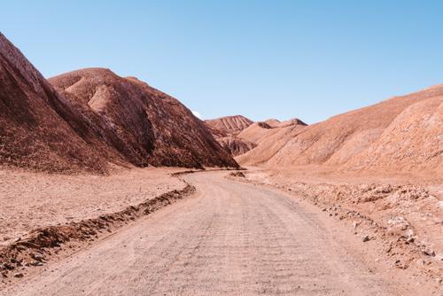 Hills of salt