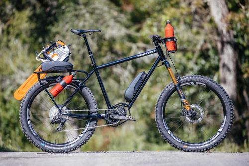 Sycip Designs, Shimano, and ENVE Created Trans Cascadia Trail Work Rigs