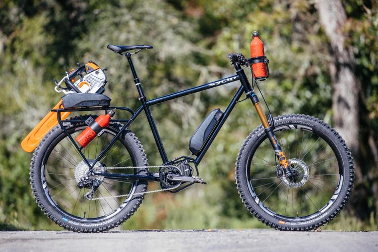 Sycip Designs, Shimano and ENVE Created Trans Cascadia Trail Work Rigs
