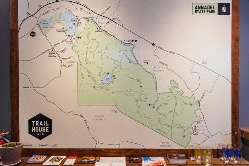Inside Santa Rosa's Trail House