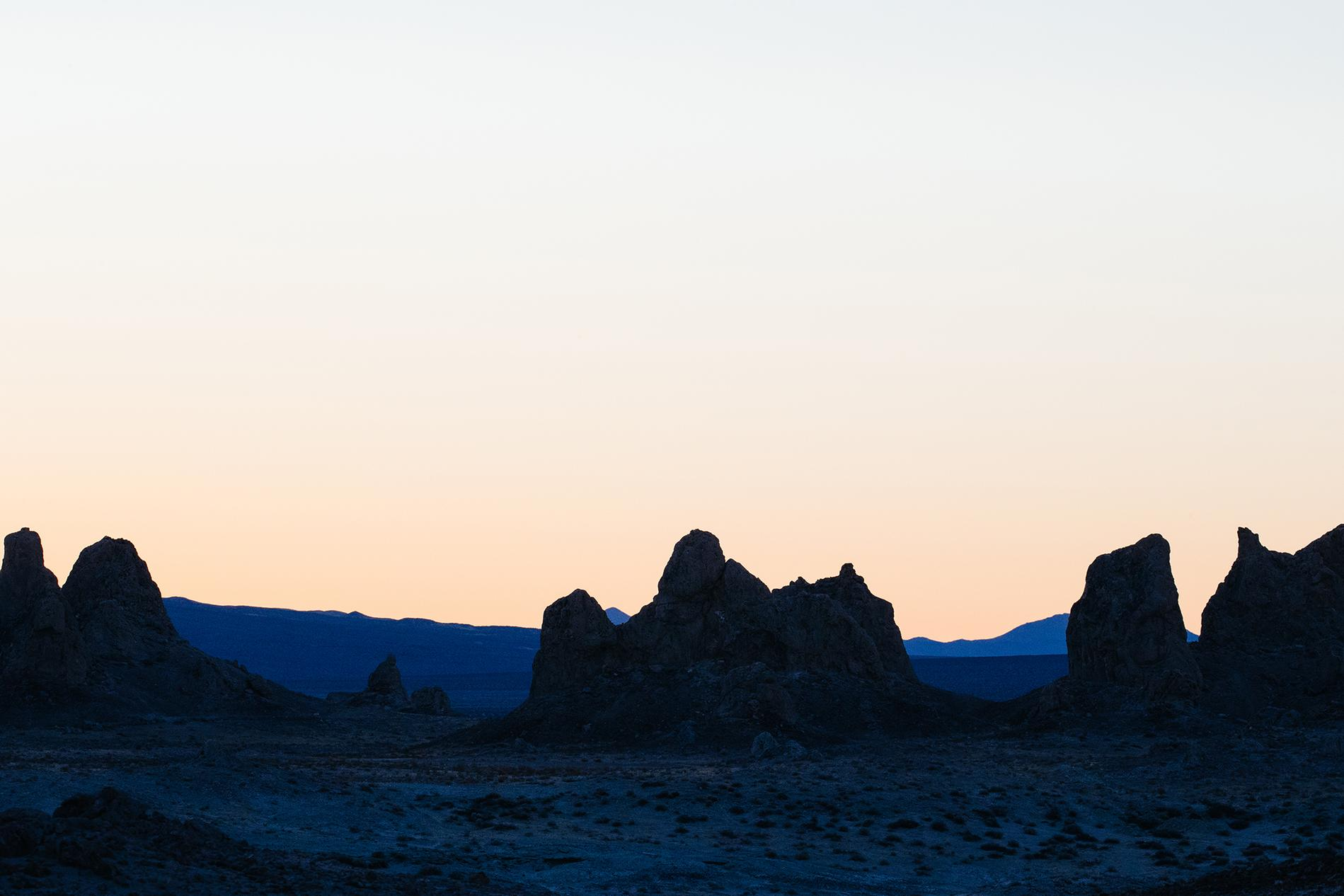 Sunrise over the Pinnacles