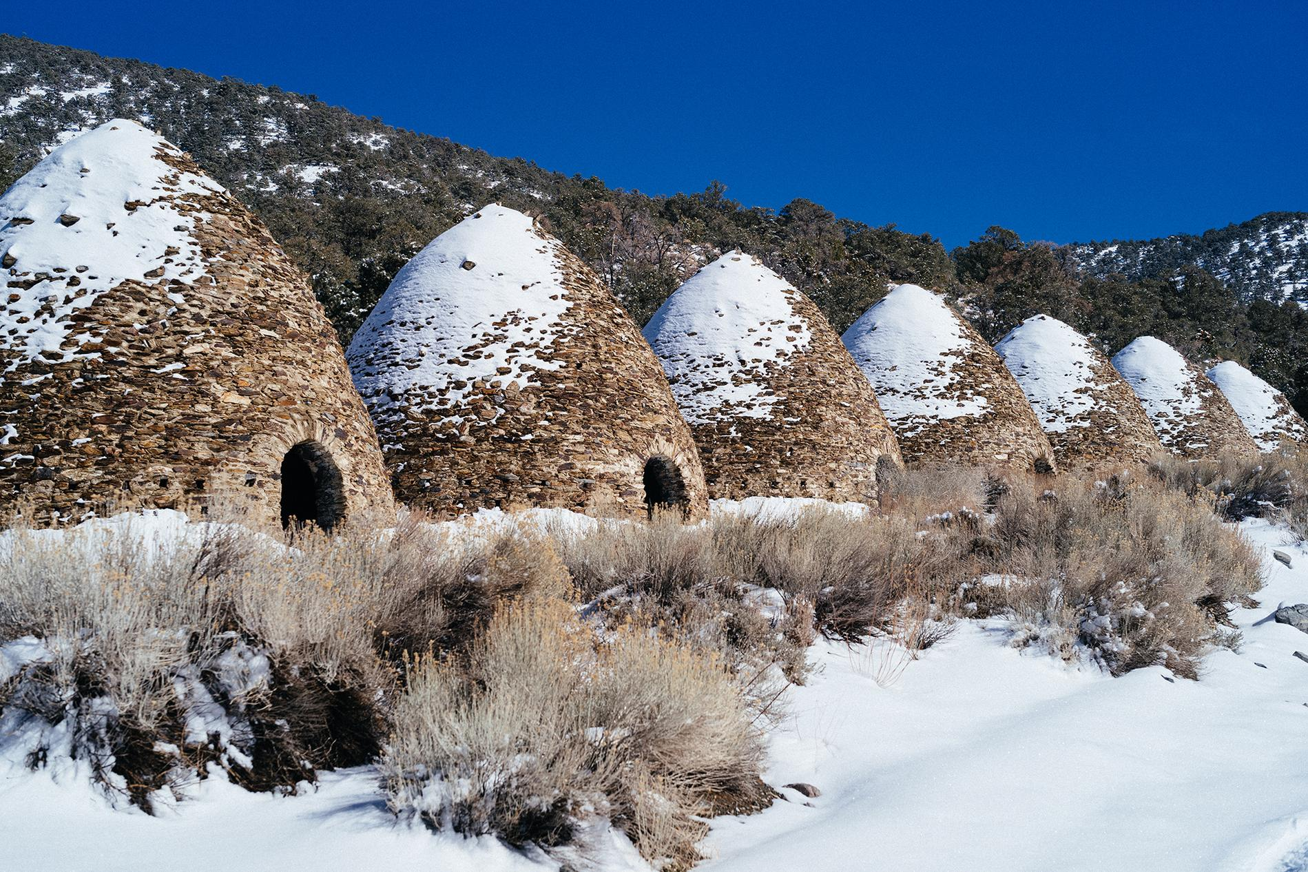 The charcoal kilns on Telescope.