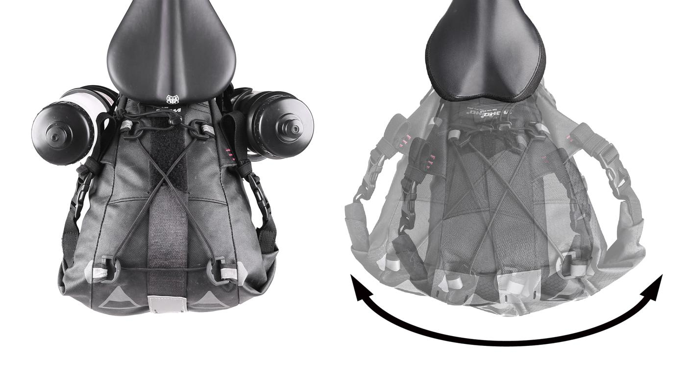 Woho Bike: Xtouring ANTI SWAY Saddle Bag Stabilizer