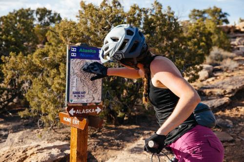 Katie the navigator.