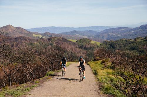 Santa Rosa hills up to Bald Mountain