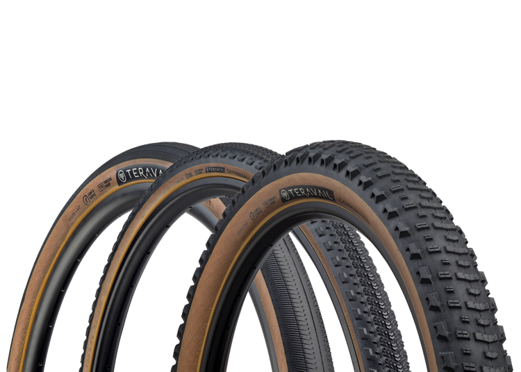 Teravail Now Offers Three Tire Models in Gumwall