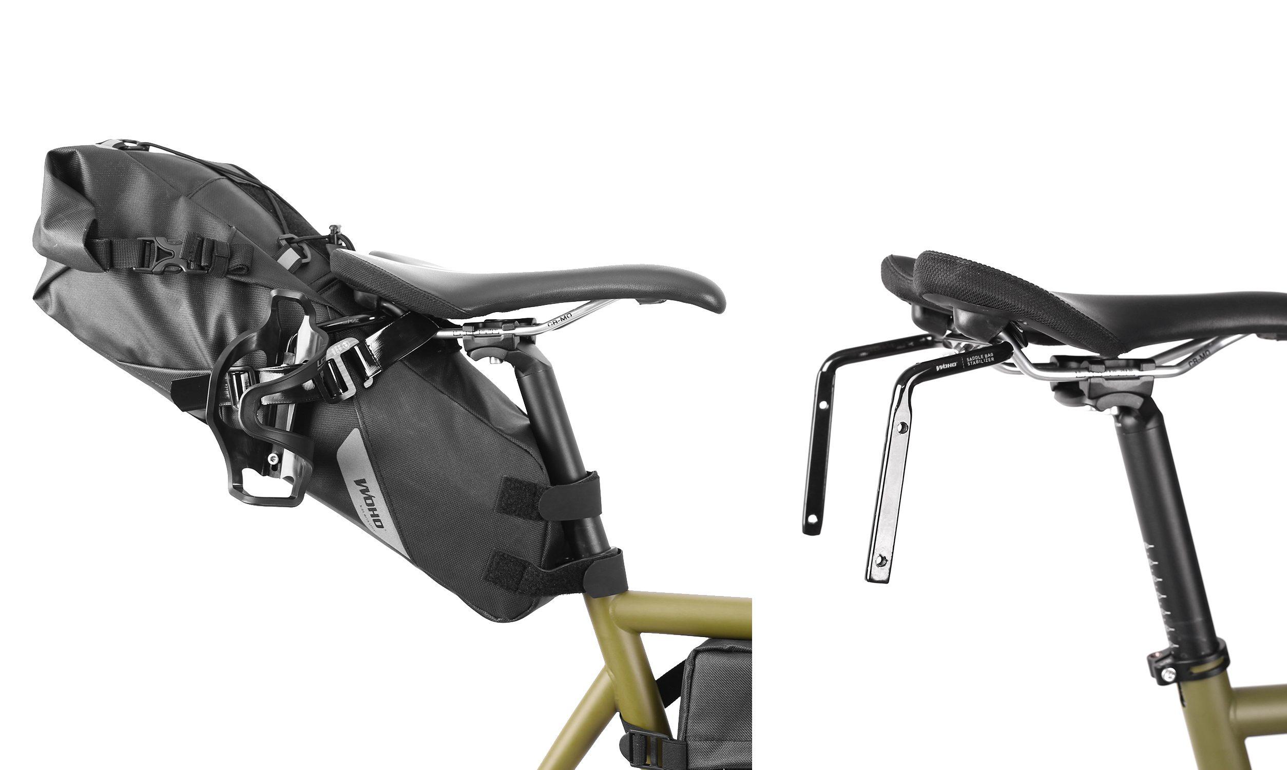 Woho Bike: Xtouring ANTI SWAY Saddle Bag Stabilizer   The Radavist