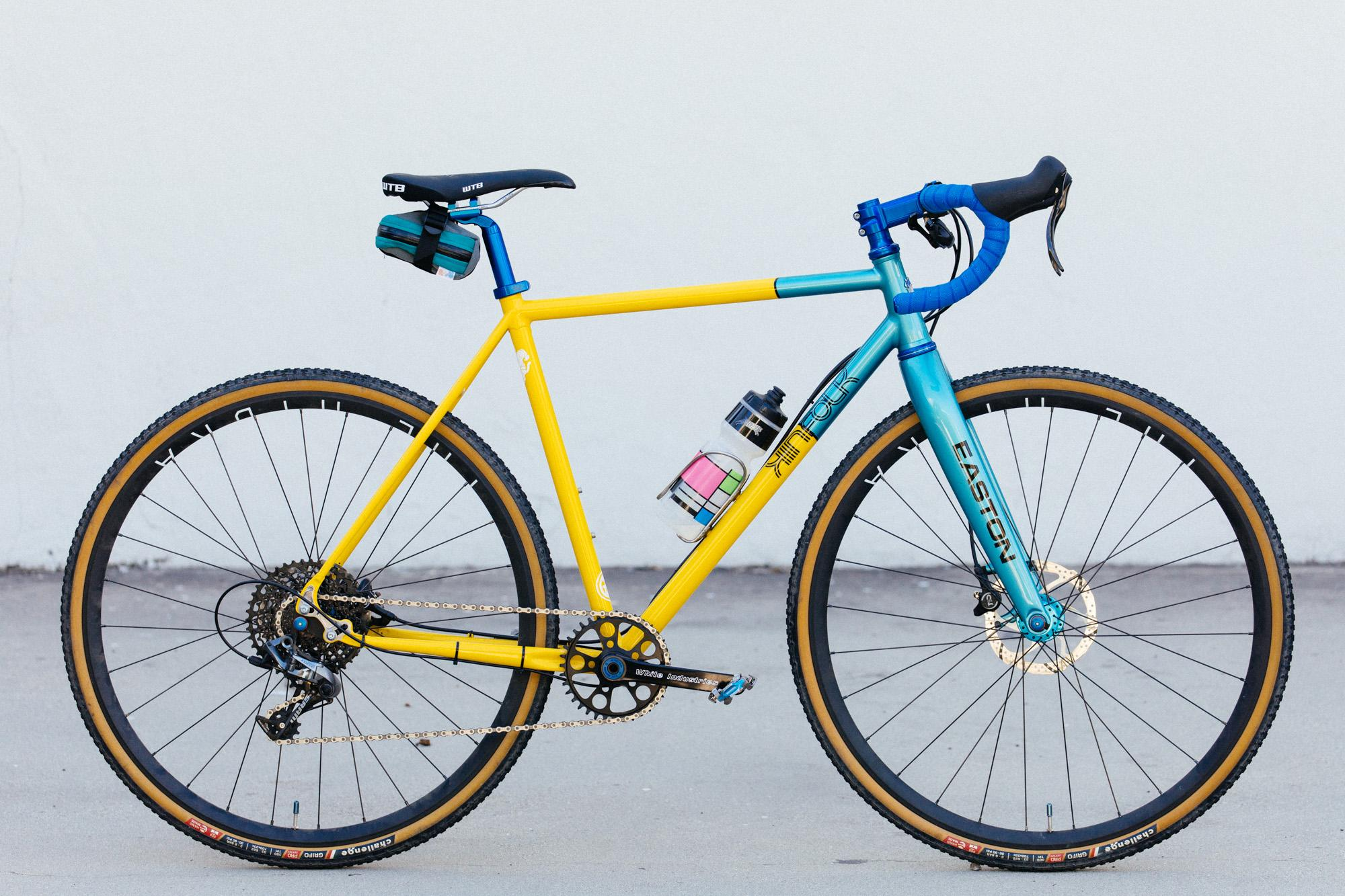 Akira and His Yeti Homage Kinfolk 'Cross Bike
